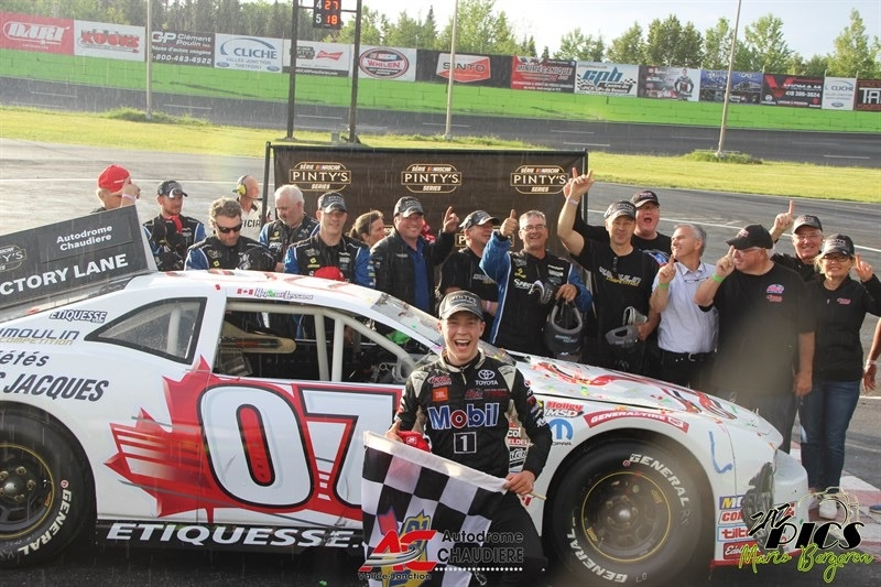 VICTORY AND PODIUM AT HOME FOR RAPHAEL LESSARD