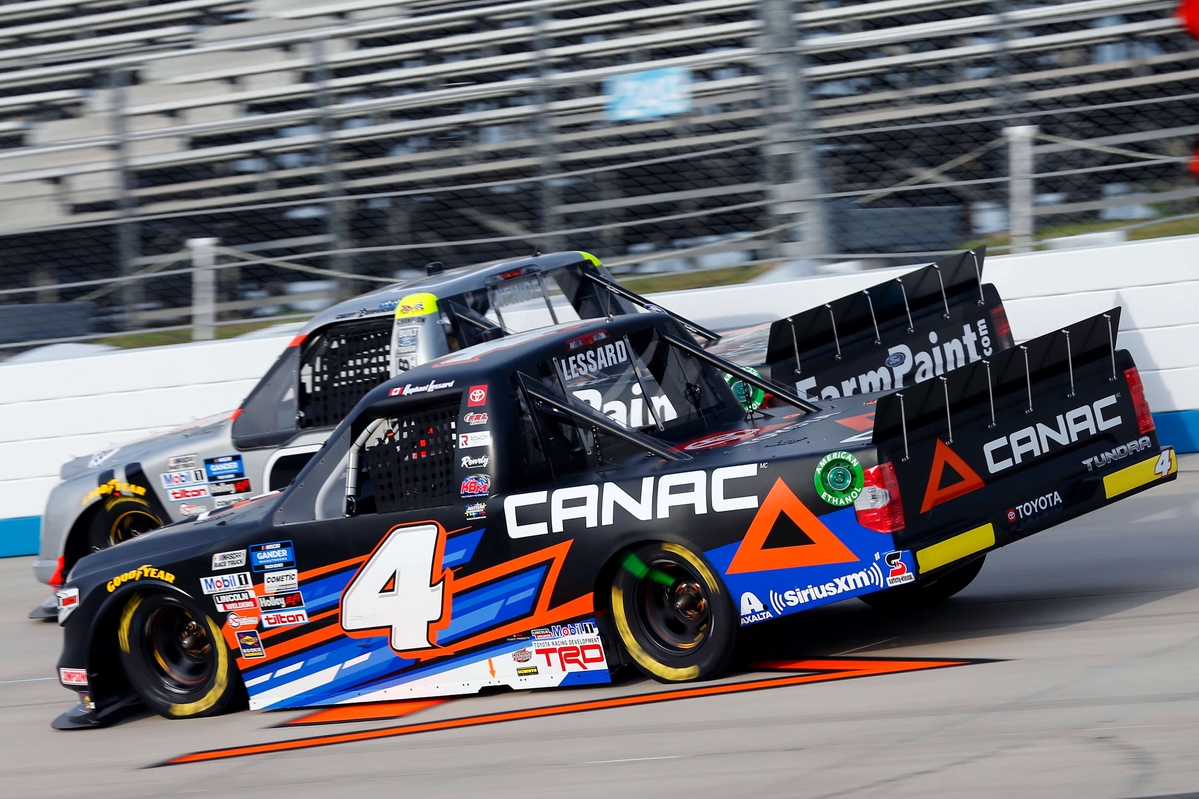 Late-Race Pit Violation Relegates Lessard to 19th-Place Finish at Dover