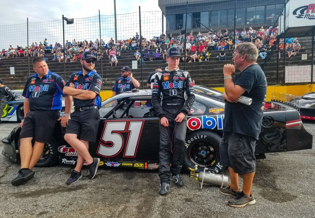 RAPHA�L LESSARD ACHIEVES A TOP 5 AT THE ANDERSON MOTOR SPEEDWAY